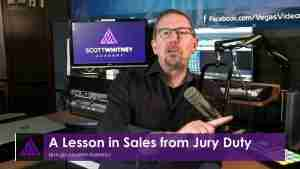 A Lesson in Sales from Jury Duty - SYF014